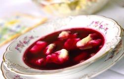 borscht μπουλέττες Στοκ Εικόνες