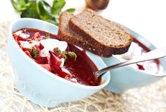 borscht σούπα Στοκ εικόνες με δικαίωμα ελεύθερης χρήσης