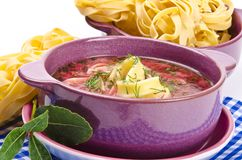 Borscht Royalty Free Stock Photo