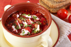 Borscht Royalty Free Stock Images