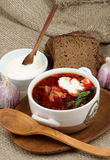 Borscht Stockfotos