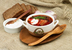 Borscht Royalty Free Stock Image