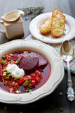 borscht Photos stock