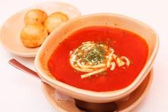 Borscht - beet soup Stock Image
