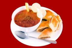 Borscht rosso Fotografia Stock