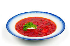 Borscht soup Stock Images