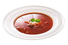 Borscht soup Stock Images