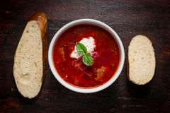 Borscht soup Royalty Free Stock Photography