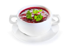 Borscht soup Royalty Free Stock Photo