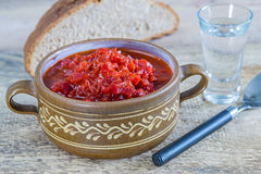 Borschtsch, stew of Russia Royalty Free Stock Photo
