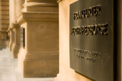 Borse в Франкфурте Стоковые Изображения RF