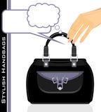 Borse alla moda femminili illustrazione vettoriale