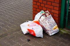 Borse di rifiuti Immagini Stock Libere da Diritti