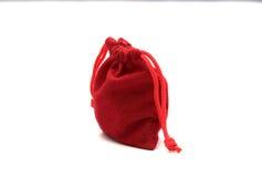 Borse di rosso dei gioielli Immagini Stock