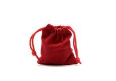 Borse di rosso dei gioielli Immagine Stock Libera da Diritti