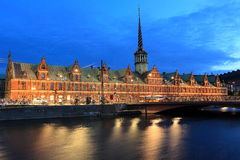 Borsen a Copenhaghen Immagini Stock Libere da Diritti