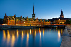 Borsen Stock Exchange Building in Copenhagen, Denmark Stock Image