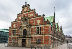 Borsen (The Stock Exchange), Copenhagen. Borsen is a building in central Copenhagen, Denmark. It was built by Christian IV in 1619 1640 and is the oldest stock royalty free stock image