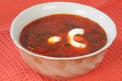 borshch ukraiński Zdjęcie Stock