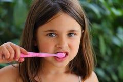 Borsta tänder Arkivbilder