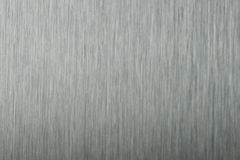 Borstad metallbakgrund Arkivbild