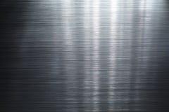 borstad metallplatta fotografering för bildbyråer