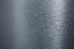 Borstad metallplatta. Royaltyfria Foton