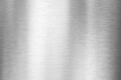 borstad metallplatta Royaltyfri Bild