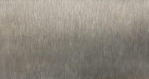borstad metalltextur Arkivfoton