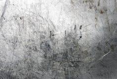 borstad metallyttersida Arkivfoto