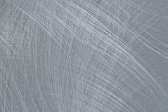 borstad rostfritt stål Arkivbild