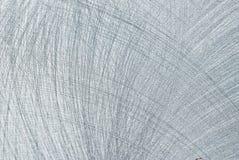 borstad rostfritt stål Arkivfoto