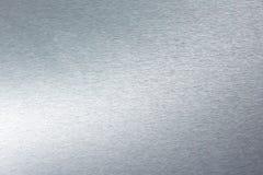 borstad rostfritt stål Arkivbilder