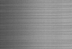 Borstad yttersida för silvertexturmetall med den metalliska linjen Royaltyfri Bild