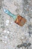 borstar målar använt Royaltyfri Fotografi