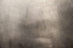 Brushed belägger med metall texturerar arkivbild