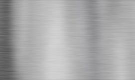 Borstat metalltexturabstrakt begrepp Royaltyfri Illustrationer