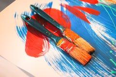 Borste för att måla Royaltyfri Fotografi