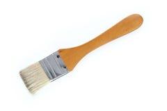 borste isolerad målarfärgwhite Fotografering för Bildbyråer