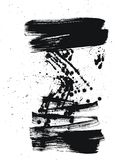 Borstel en dalingen Stock Afbeelding
