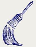 Borstel en verf vector illustratie