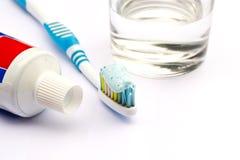 Borstel uw tanden stock foto's