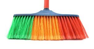 Borstel voor het schoonmaken van huis Stock Foto