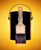 borstemålarfärg Fotografering för Bildbyråer