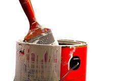 borsten kan måla Royaltyfria Bilder