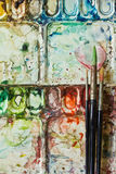 borstevattenfärg Arkivbild