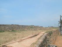 Borstweringen Galle Sri Lanka Stock Foto's