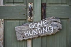 Borta jakt. Fotografering för Bildbyråer
