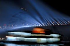 bortgång för bosporus bro Royaltyfri Bild
