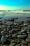 Borths strand Arkivfoton